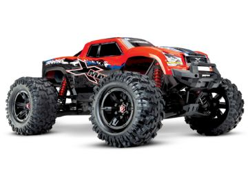 Traxxas TRX77086-4-REDX X-Maxx 4WD Brushless RTR 8S Monster Truck (Red X)